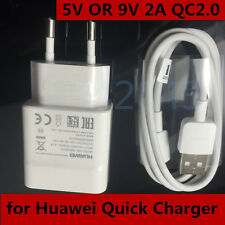 EU Original Fast Wall Charger + Cable For Huawei Honor 7 /6X /5C /Mate 8 /P8 /P7