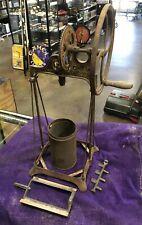 Rare Antique Dazey Metal Butter Churn Frame & Parts, Model 330B, Original