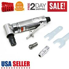 """New Angle Die Grinder 1/4"""" Pneumatic Cut Off Polisher Cleaning Cutting Air Tool"""
