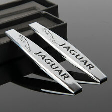 2pcs Car Metal chrome Fender Badges Emblems Decal Sticker For sports Racing NEW