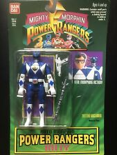 Vintage 1994 Bandai Mighty Morphin Power Rangers with tattoo bue Billy NIP