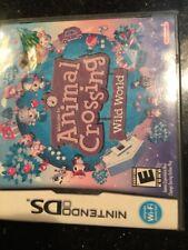 Animal Crossing: Wild World Nintendo DSBrand New Factory Sealed