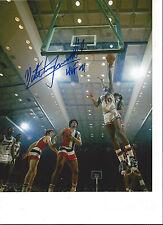 Nate Tiny Archibald Sacremento Kings Signed 8x10 Photo COA