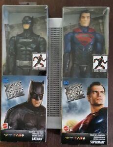 *BRAND NEW* DC Justice League: Batman and Superman Mattel Posable Figurines