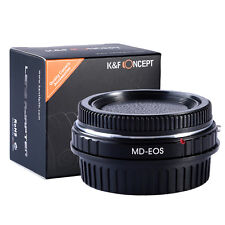 MD-EOS Adapter Ring For Minolta MD Lens to Canon EOS EF 5D 7D 550D Optical Glass