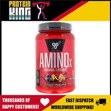 BSN AMINO X 1KG FRUIT PUNCH 70 SERVE BCAA AMINOS BCAA RECOVERY STRENGTH MUSCLE