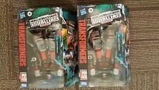 Lot of 2 Transformers Earthrise Cybertron Walgreens Exclusive Bluestreak in hand