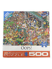 Euorgraphics Martin Berry Mud Stock Oops Puzzle - 500 Large Piece Family Puzzle