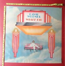 "David Werner Poster,24""x24"" ,Original""Whizz Kid"" Record company promo"