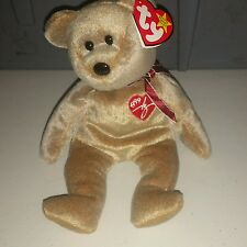 Ty Beanie Baby Original 1999 Signature Bear Plush Stuffed Toy Embroidered Heart