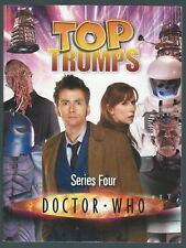 Doctor Who Top Trumps Series Four Moray Laing Haynes Publishing Ltd 2008 Good+