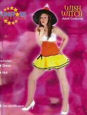 NEW WISH WITCH COSTUME HORROR HALLOWEEN FANCY DRESS OUTFIT