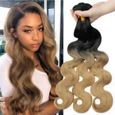 1-3 Bundles Weaving Weft Croceht Hairpieces Closure Hair Extensions For Human J2