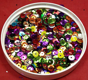 Loose Sequins 5mm - multiple weights