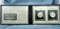The First and Last Morgan Silver Dollars 2 Coin Gift Set 1878-S BU and 1921 BU