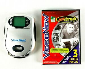 Hasbro Video Now Video Player 2003 Silver With Animal Planet The Jeff Corwin Exp