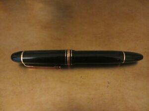 Vintage Mont Blanc 149 Diplomat Fountain Pen 18k Gold Nib