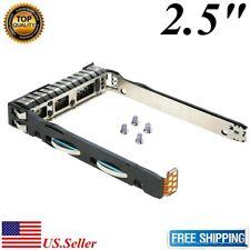 "2.5"" SAS SATA SSD Hard Drive Tray Caddy For HP Proliant DL360p Gen8 G8 w/IC Chip"