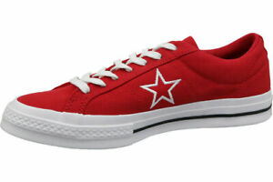 CONVERSE ONE STAR OX 163378C LOW TOP SNEAKERS New