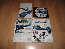 EPIC MICKEY 1 RVL-SEMX-ESP DE WALT DISNEY PARA LA NINTENDO Wii USADO COMPLETO