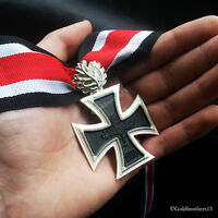 Knights Cross with Oak Leaf German Military Medal 1939 Repro