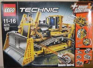 Lego Technic 8275 RC Bulldozer / Planierraupe 100% komplett mit Bauanleitungen