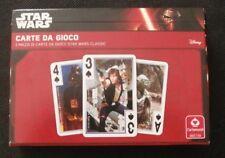 star wars - carte da gioco - 2 mazzi di carte - disney - cartamundi - mondadori
