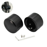 Front Axle Nut Cover Axle Caps Set Chrome for Harley Sportster Dyna Touring Softail Electra Street Glide 2007-2020