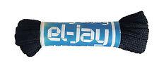 El-Jay 100cm 99.1cm Negro Fútbol Rugby Deporte más Corto Cordones de Botas Mrrp