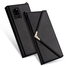 For Samsung Galaxy Note10 S10 E S9 S8 S20 Plus Ultra Case Leather Wallet Cover