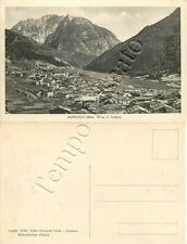 Cartolina di Auronzo di Cadore, panorama - Belluno