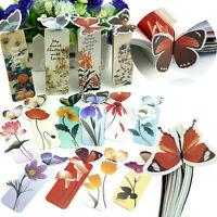 1x Creative Butterfly Bookmark  Cartoon Book Mark Paper Clip Office School SI