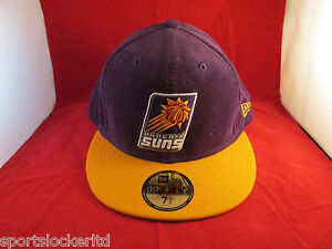 New Era 59Fifty NBA Phoenix Suns Flat Peak Fitted Hat SportsLocker