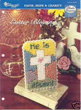 EASTER BLESSING ~  plastic canvas pattern