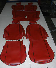 Liners Seats Car Tailored Mini Cooper from 2001 a 2005 Leatherette Burgundy
