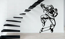 Guy On Skateboard Extreme Street Sport  Sign Wall Mural Vinyl Art Sticker z851
