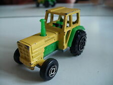 Majorette Tracteur in Yellow/Green