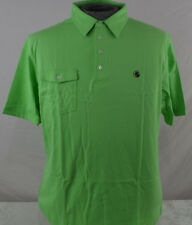 NEW Mens Southern Proper Polo Golf Tourney Shirt  Sz L Large mint green