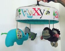 Baby Mobile 4 Animals W/ Contrast For Crib And Changing Table