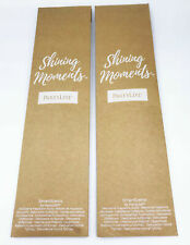 Lot of 2x PartyLite Shining Moments SmartScents Fragrance sticks Mulberry
