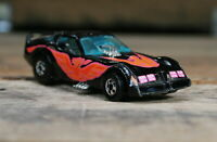 Hot Wheels: Pontiac Trans Firebird 1:64 Diecast Car - 1977 Malaysia Black & Pink
