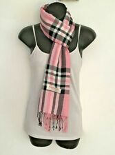 Men Women Winter Warm PLAID/CHECK Pashmina Long Soft Cozy Scarf Stole Wrap