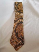 The Turnbull Tie, Turnbull and Asser, Paisley Handmade 100% Silk Made in England