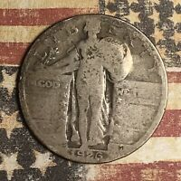 1926-S STANDING LIBERTY SILVER QUARTER COLLECTOR COIN. FREE SHIPPING
