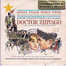 DOCTOR ZHIVAGO Soundtrack EP
