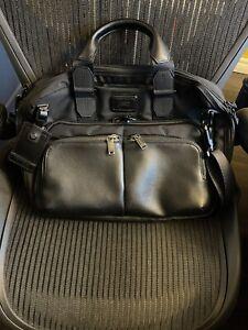 Tumi Alpha Bravo Albany Slim Commuter Brief Briefcase