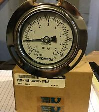 Pressure Gauge 30 inHg -  100 PSI (New)