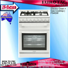 Euromaid 54cm Dual Fuel Upright CookerF54GW Box Damaged Brand New