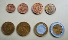 lot 8 pièces EURO en plastique