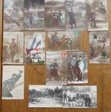 Lot 14 Carte postale ancienne Guerre Militaire  lot 1